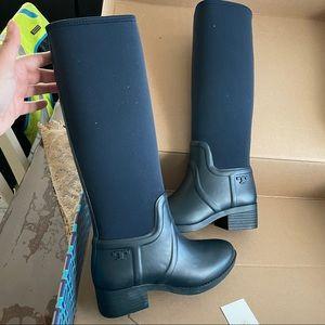 New Tory Burch rain boot
